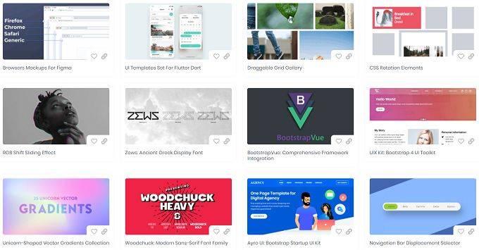 Freebies.ByPeople|一个为设计师和开发人员精心挑选的免费设计资源站点
