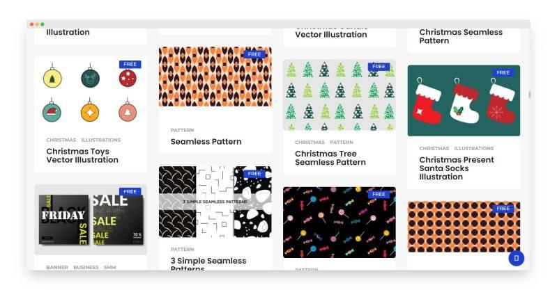 VectorForFree | 国外优质免费设计素材站